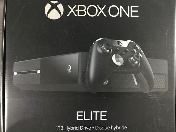 Xbox One Elite 1tb Novo Na Caixa Pronta Entrega