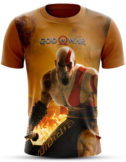 Camisa Do Jogo God Of War