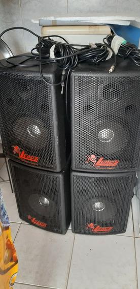 Caixas De Som, Amplificador, Mesa De Som E Projetor Digital
