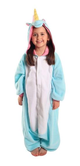 Pijama Mameluco Unicornio Niño Niña Abrigado Love Home