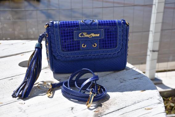 Cartera Carmen Steffens Chiquita Azul
