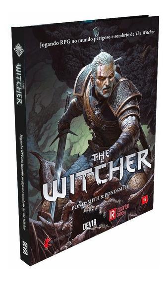 Livro The Witcher Rpg Portugues Original Devir Lacrado