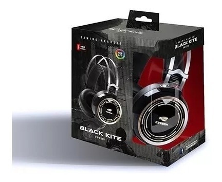 Headset Gamer C3tech Ph-g310bk Black Kite C/microfone P2+usb