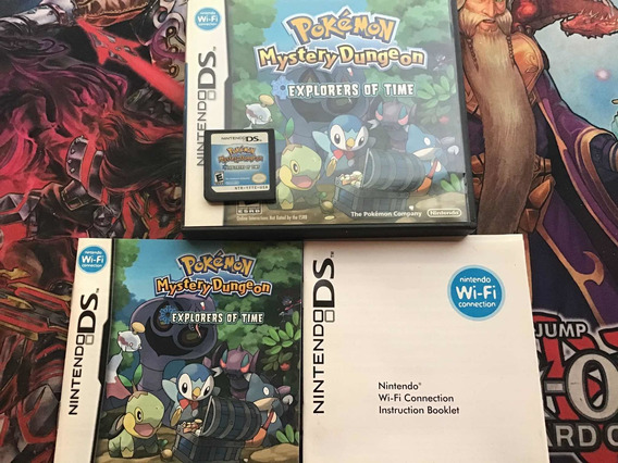 Pokemon Ds Mystery Dungeon Explorers Of Time