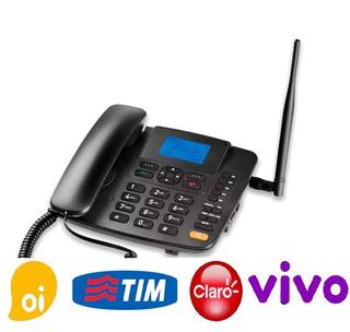 Telefone Celular Rural De Mesa Multilaser 1 Ano De Garantia