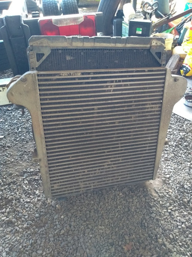 Conjunto De Radiadores Água E Intercooler Motor Cummins