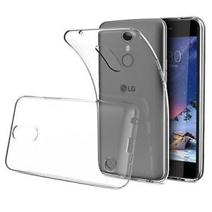 Funda Para K4 Lg Transparente Flexible