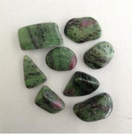Zoizita Rolada Natural 250g Pedra Cura Cristais
