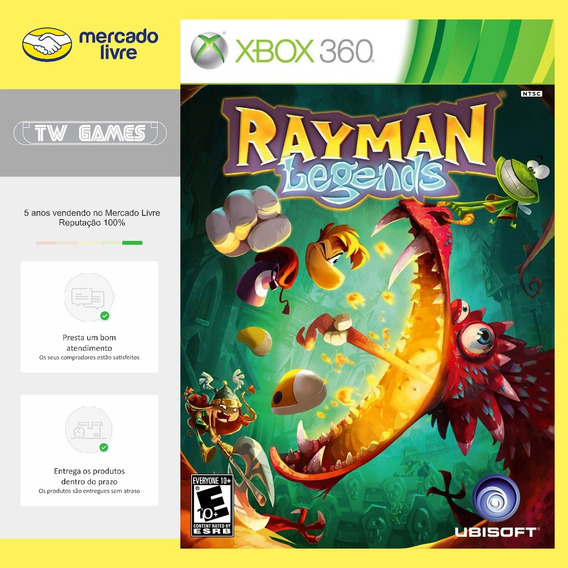 Rayman Legends Digital Retrocompativel Xbox 360 Xbox One