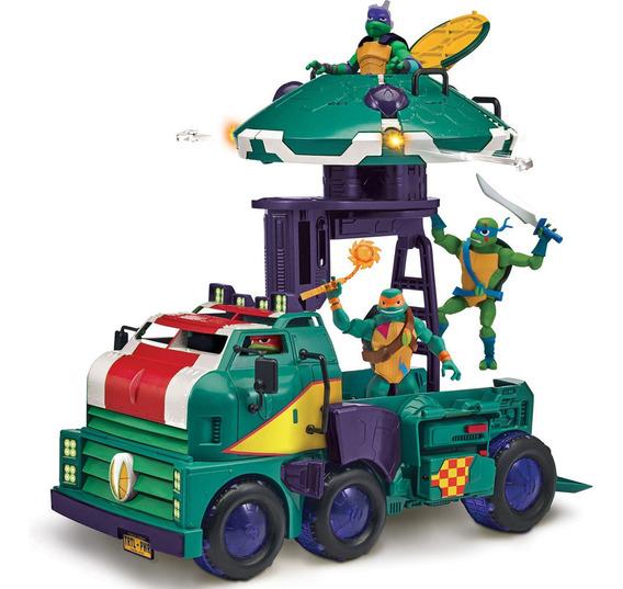 Veículo E Figura - 2 Em 1 - O Despertar Das Tartarugas Ninja