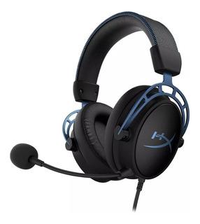 Auricular Hyperx Cloud Alpha S Gamer Co Micofono Hx-hscas-b