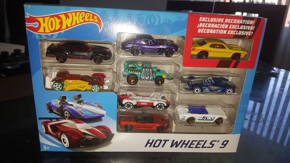 Carros Hot Wheels Set De 9