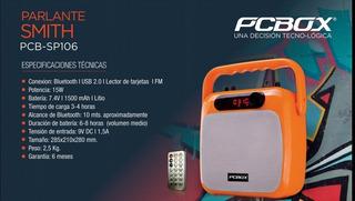 Parlante Pcbox Smith Pcb-sp106 Bluetooth 1500mah