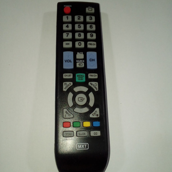 Controle Tv Samsung Lcd Mxt Akb72914210-221