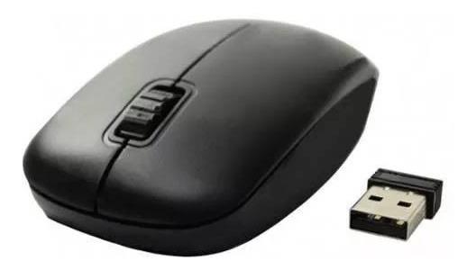 Mouse Óptico Sem Fio 2.4ghz Usb Wireless Notebook Pc Ms-s22