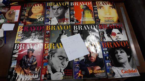 Revista Bravo! Ano 1 Completo 1997-1998