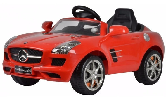 Auto Mercedes Benz Eléctrico Rojo, Original, Niño