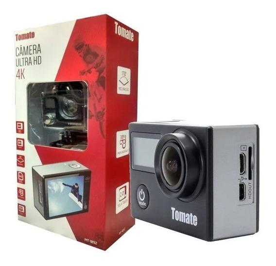 Câmera Filmadora Hd Sports Tomate Mt-1092 Wifi 4k Moto