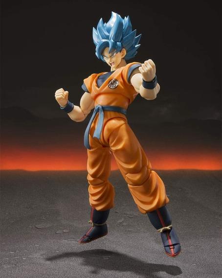 Goku Ssj God Blue Bandai Sh Figuarts Lacrado Pronta Entrega