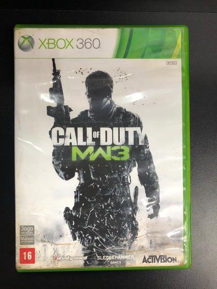 Call Of Duty Mw3 Xbox 360 Midia Física Seminovo