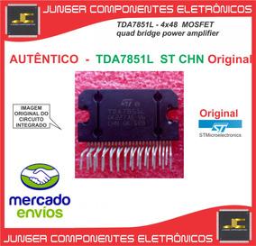 Tda7851l -tda7851 L - Caixa Amplificada Lenoxx -tda7851l
