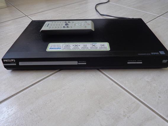 Dvd Philips Dpv3124 Para Retirada De Peças Ou Conserto