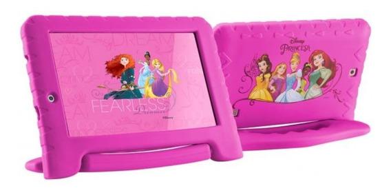 Tablet Pricesas Rosa Tela 7 Capa Emborrachada 16gb Outlet