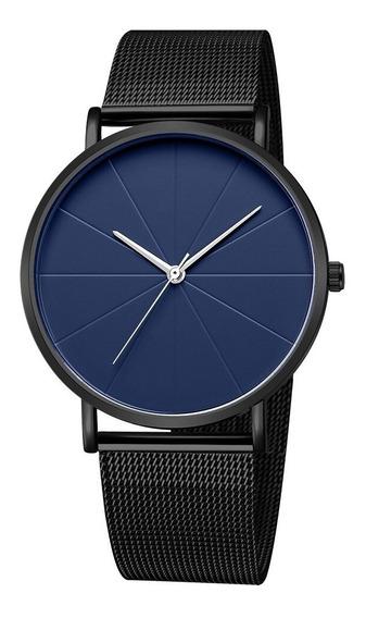 Reloj Elegante De Malla Metálico Modelo Nuevo Modelo 2020