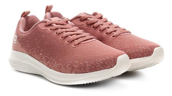 Tênis Azaleia Mesh Jogging Feminino - Rosa