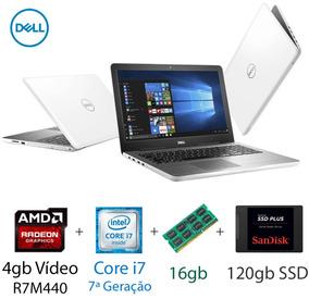 Notebook Dell Gamer Core I7 16gb Ram Ssd 120gb Tela 15,6 Pol
