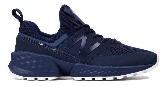 Tênis New Balance Ms574kta Azul Marinho - Original