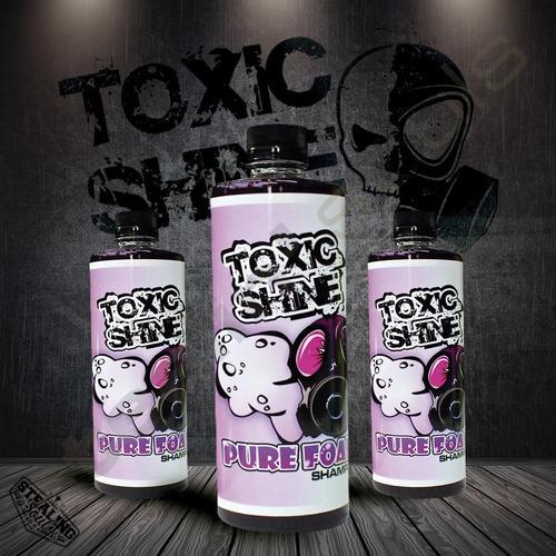 Imagen 1 de 8 de Toxic Shine | Pure Foam | Shampoo | 600cc