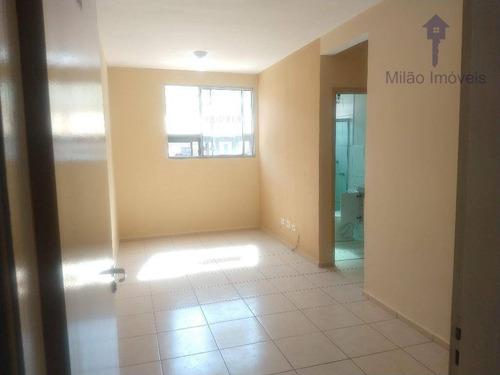 Apartamento Com 2 Dormitórios À Venda, 48 M² Por R$ 171.000 - Condominio Spazio Saragoza - Jardim Vera Cruz - Sorocaba/sp - Ap0377