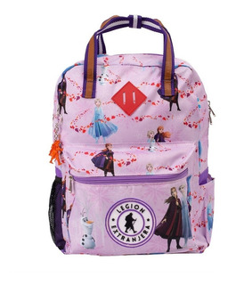 Mochila Bart Frozen Violeta Disney Legion Extranjera Escolar