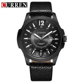 Relógio Masculino Curren - Modelo De Luxo Pulseira De Couro