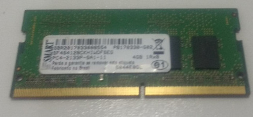 Memoria Notebook Smart Ddr4 4gb G02