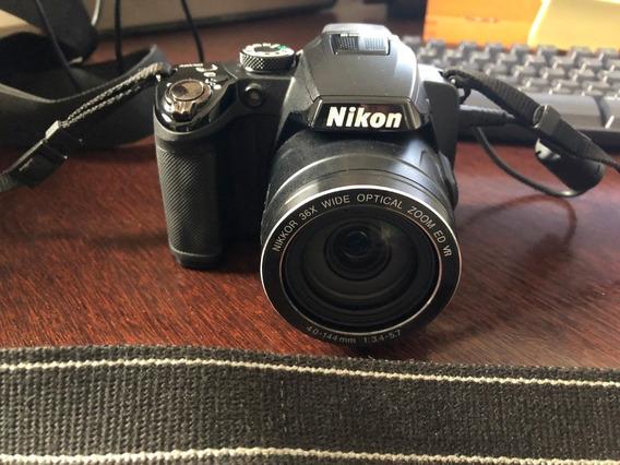 Câmera Nikon P500 + Case Profissional + Cartão Memória Pro