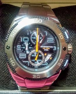Reloj Kevingston All Acero Inoxidable Cronometro Calendario