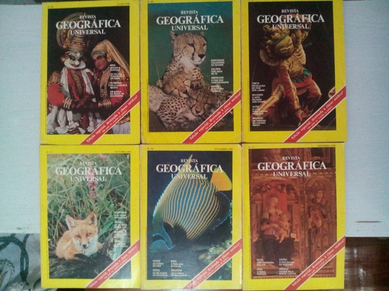 Revistas Geográfica Universal 1980
