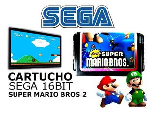 Cartucho Sega Super Mario Bros 2 Nuevo