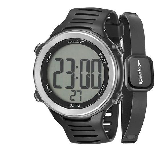 Relógio Speedo Monitor Cardíaco 66001g0emnp1