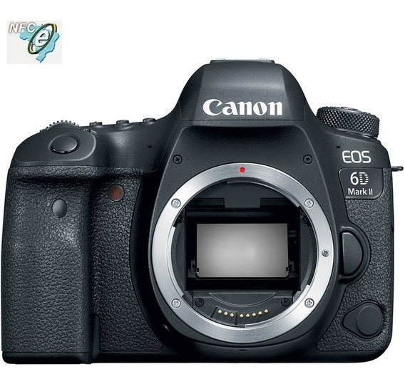 Canon Eos 6d Mark Ii 26.2mp Full Frame Corpo Nota Fiscal