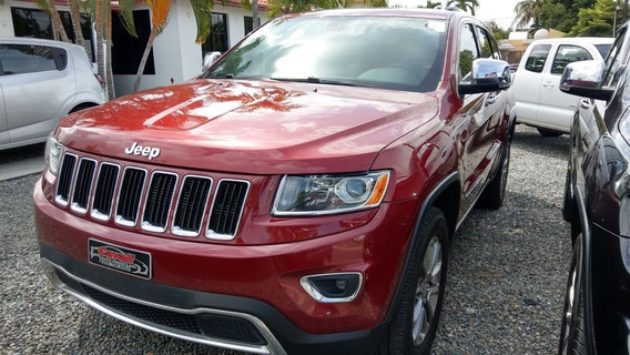 Jeep Grand Cherokee 4x4 Limited Roja 2014