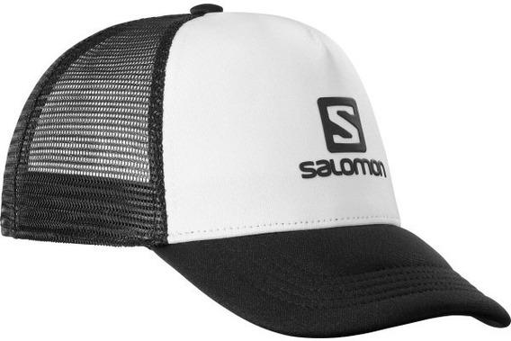 Gorra Salomon Summer Logo Cap Hombre Wh/bl Running