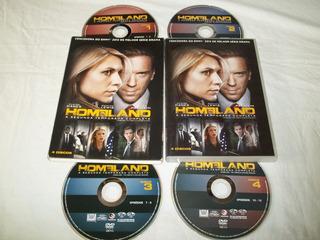 Dvd - Homeland - A Segunda Temporada Completa