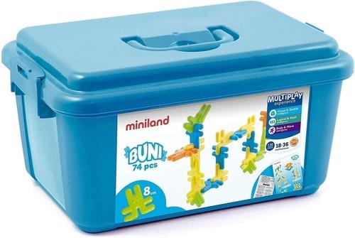 Imagen 1 de 8 de Juguete De Encastre Miniland Niños Creación Miniland Atrix ®