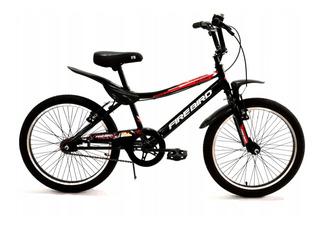 Bicicleta Firebird Rodado 20 Cross Guardabarros