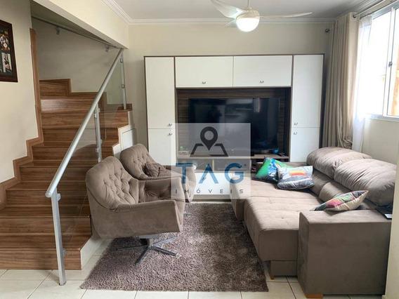 Casa Com 3 Dormitórios À Venda, 90 M² Por R$ 510.000 - Parque Rural Fazenda Santa Cândida - Campinas/sp - Ca0157