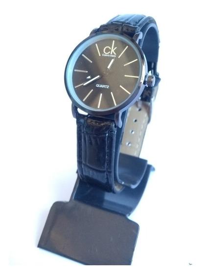 Relógio Feminino Calvin Klein Pulseira De Couro