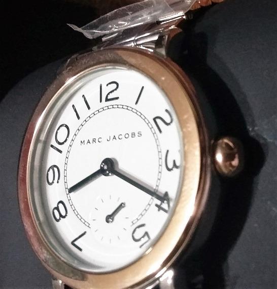 Marc Jacobs Reloj Original Con Área Segundero